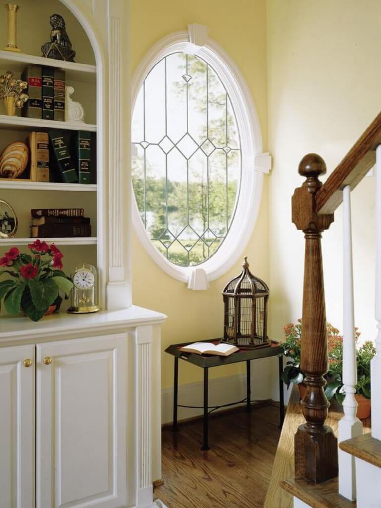 Ovális ablak beszerelése Bénye