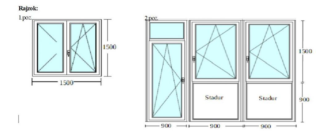 1 panel ablakcsere