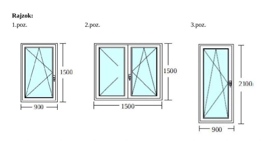 2 panel ablakcsere akció