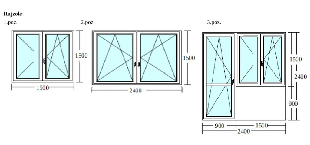 3 panel ablakcsere Újpest